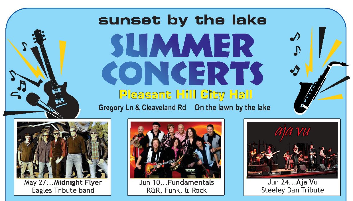 Summer concerts top half of flyer